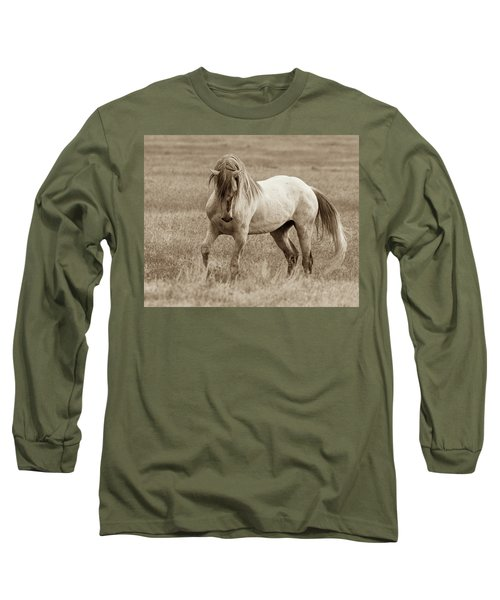 He's Got The Moves Long Sleeve T-Shirt