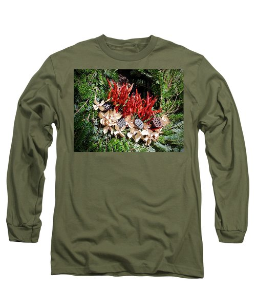Holiday Peppers Long Sleeve T-Shirt