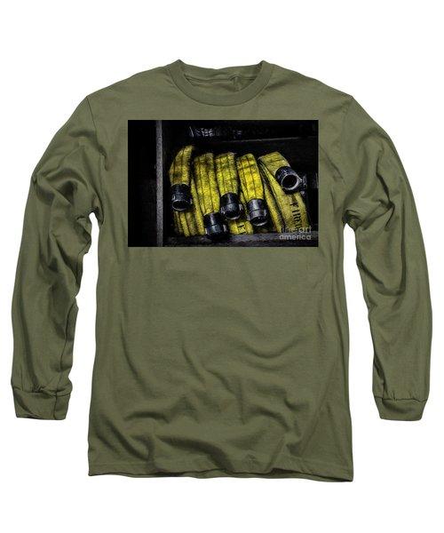Hose Rack Long Sleeve T-Shirt