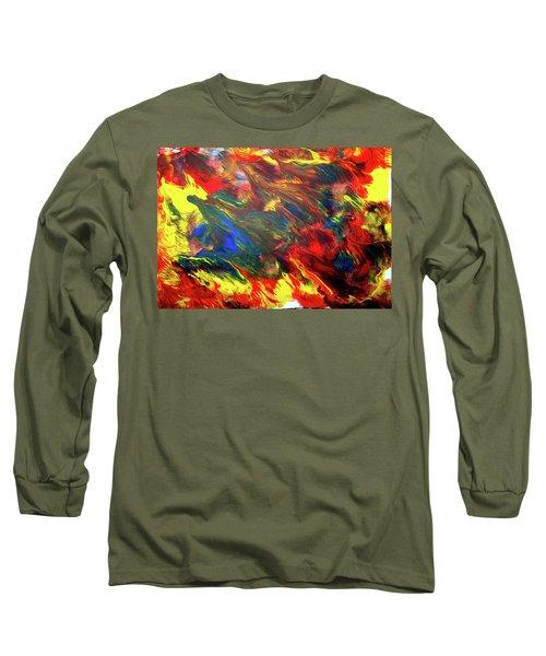 Hot Colors Coolling Long Sleeve T-Shirt
