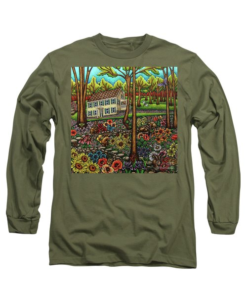 House In The Meadow  Long Sleeve T-Shirt
