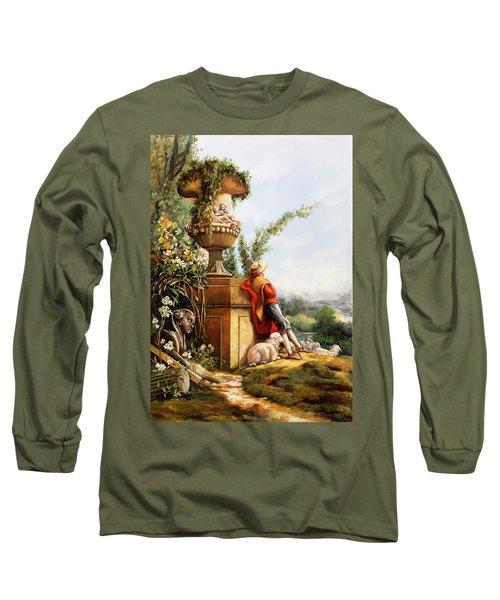 Il Pastore E Le Sue Pecore Long Sleeve T-Shirt