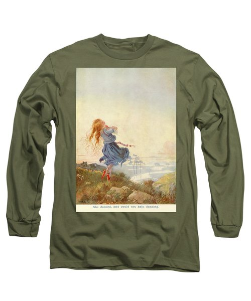 Illustration For The Red Shoes Long Sleeve T-Shirt