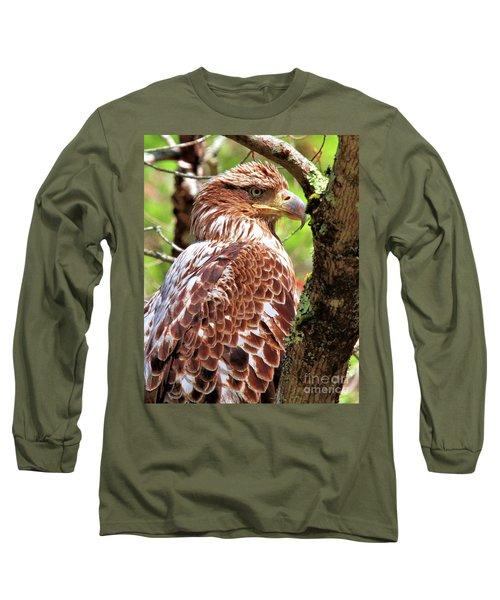 Immature Eagle Long Sleeve T-Shirt