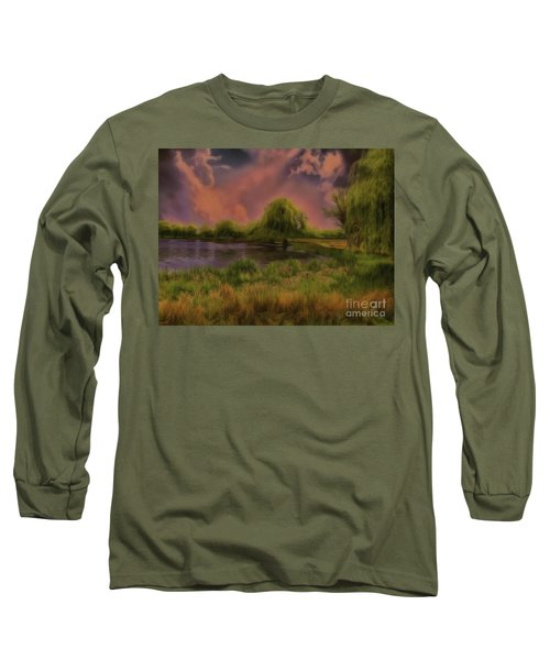 Long Sleeve T-Shirt featuring the photograph In My Element by Leigh Kemp