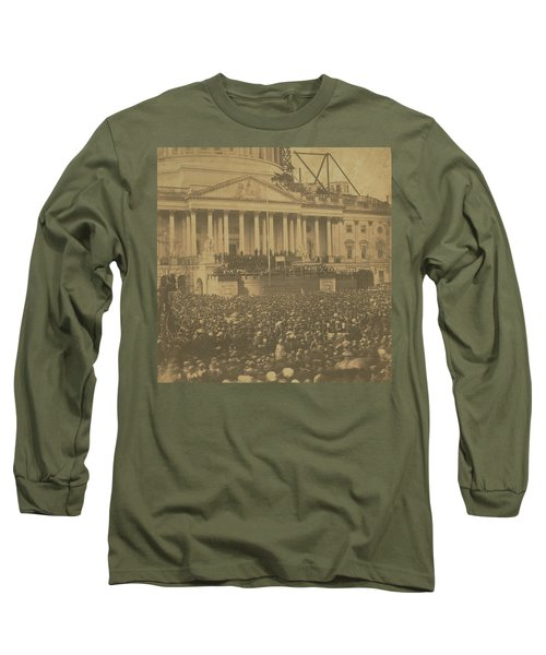 Inauguration Of Abraham Lincoln, March 4, 1861 Long Sleeve T-Shirt