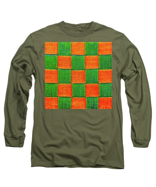 Interlaced Canvas Straps 3 Long Sleeve T-Shirt