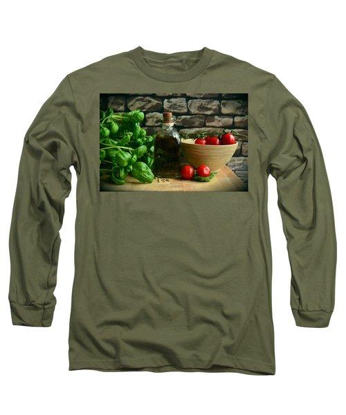 Italian Ingredients Long Sleeve T-Shirt