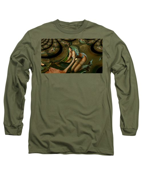 Jade Forest Long Sleeve T-Shirt