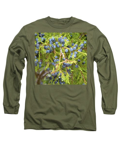 Juniper Berries Long Sleeve T-Shirt