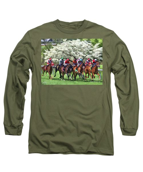 Keeneland Down The Stretch Long Sleeve T-Shirt