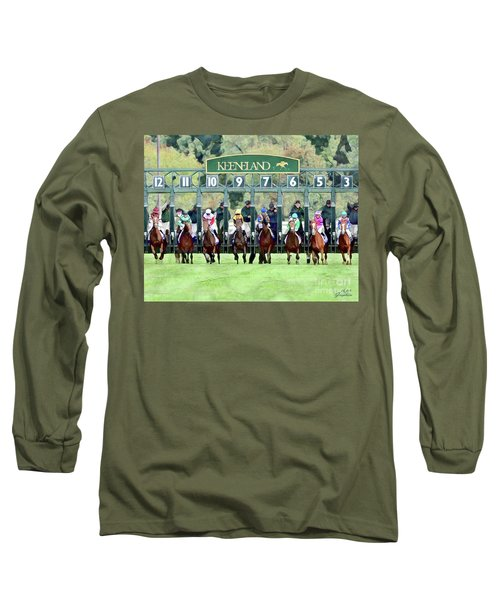 Keeneland Starting Gate Long Sleeve T-Shirt