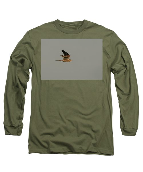 Kestrel Sundown Flyby Long Sleeve T-Shirt