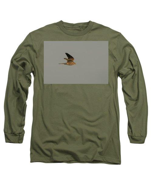 Kestrel Sundown Flyby Long Sleeve T-Shirt