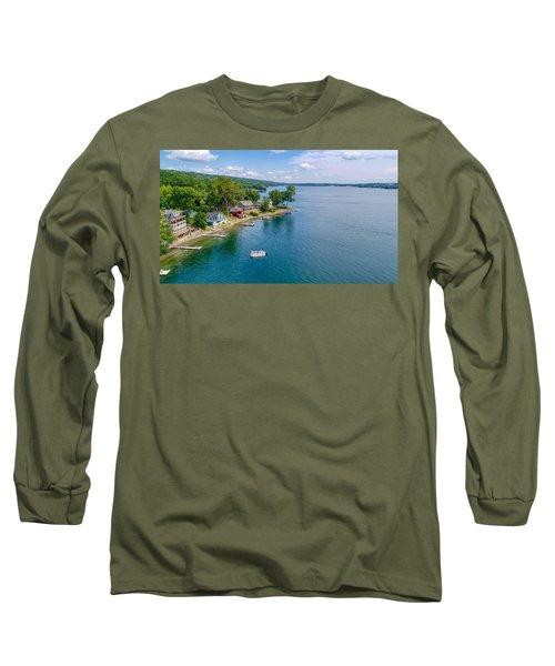 Keuka Boat Day Long Sleeve T-Shirt