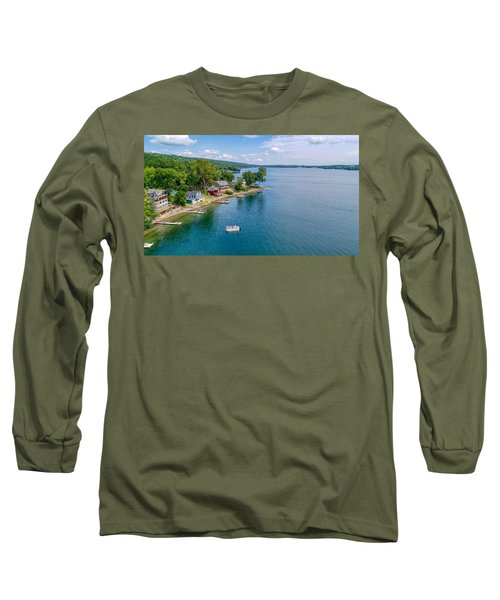 Keuka Boat Day Long Sleeve T-Shirt