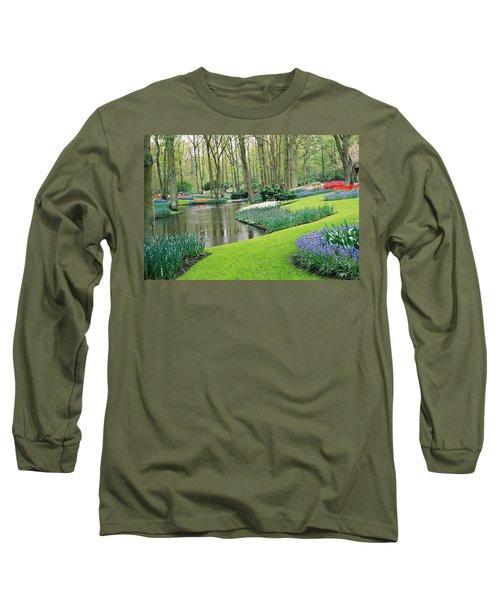 Keukenhof Gardens Long Sleeve T-Shirt