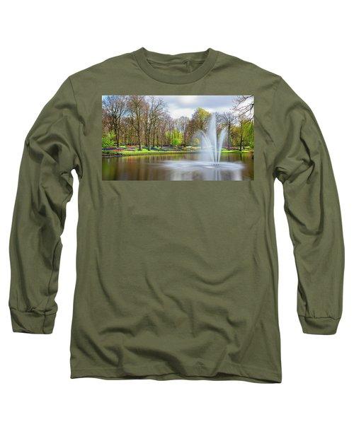 Keukenhof Tulip Garden Holland Long Sleeve T-Shirt