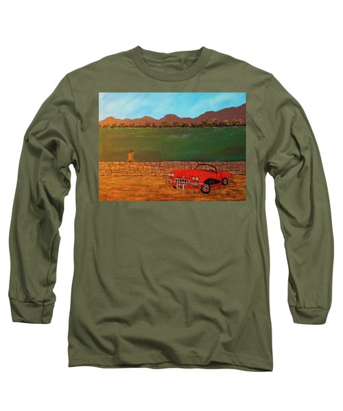 Kicks On Route 66 Long Sleeve T-Shirt