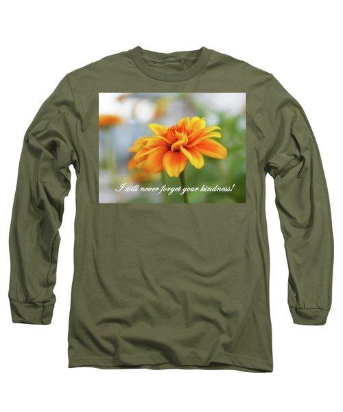 Kindness Long Sleeve T-Shirt