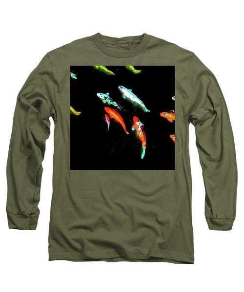 Koicarpscape 3 Long Sleeve T-Shirt