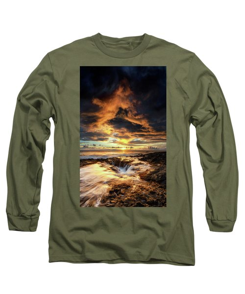Kona Sunset Long Sleeve T-Shirt