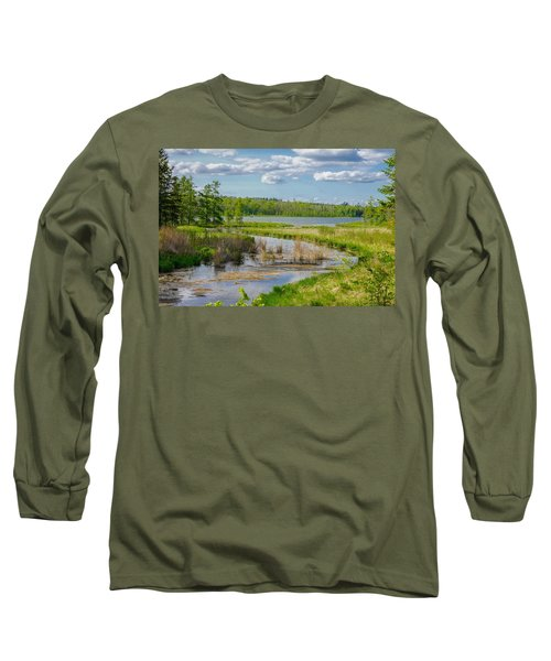 Lake Itasca Beauty Long Sleeve T-Shirt