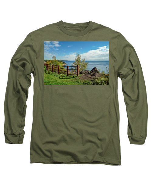 Lake Superior Overlook Long Sleeve T-Shirt