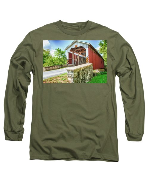 Lancaster Covered Bridge Long Sleeve T-Shirt