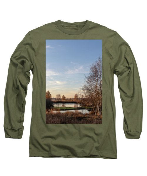 Long Sleeve T-Shirt featuring the photograph Landscape Scenery by Anjo Ten Kate