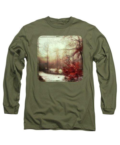 Last Copper- Misty Winter Day Long Sleeve T-Shirt