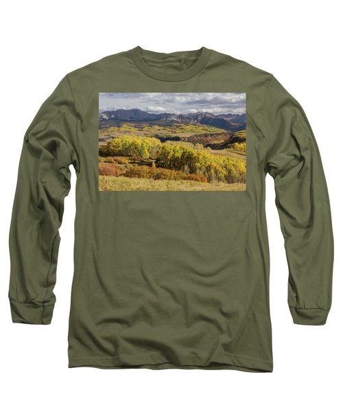 Long Sleeve T-Shirt featuring the photograph Last Dollar Road by James BO Insogna