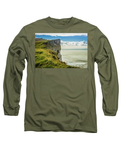 Latrabjarg Cliffs, Iceland Long Sleeve T-Shirt