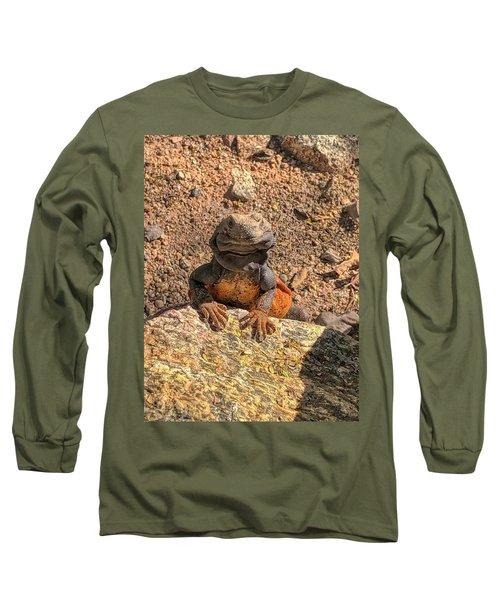 Lizard Portrait  Long Sleeve T-Shirt