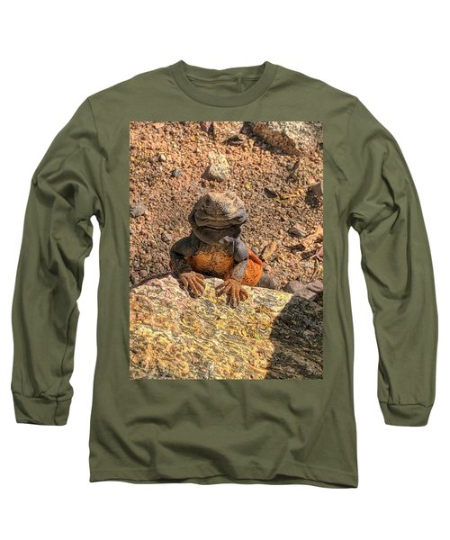Lizard Portrait  Long Sleeve T-Shirt