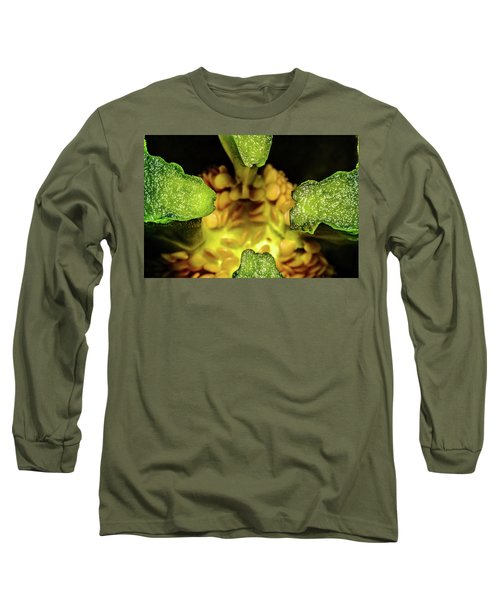 Looking Into A Pepper Long Sleeve T-Shirt