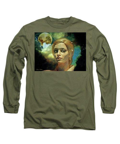Luna In The Garden Of Evil Long Sleeve T-Shirt