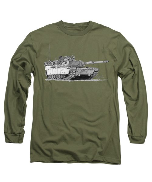 M1a1 C Company 3rd Platoon Commander Long Sleeve T-Shirt