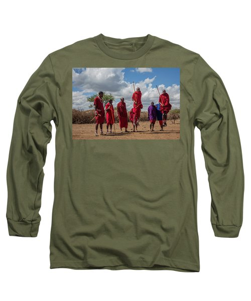 Maasai Adumu Long Sleeve T-Shirt