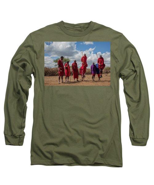 Maasai Adumu Long Sleeve T-Shirt