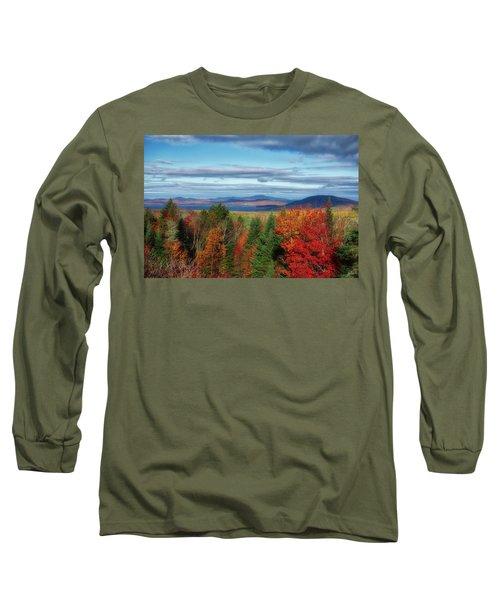 Maine Fall Foliage Long Sleeve T-Shirt