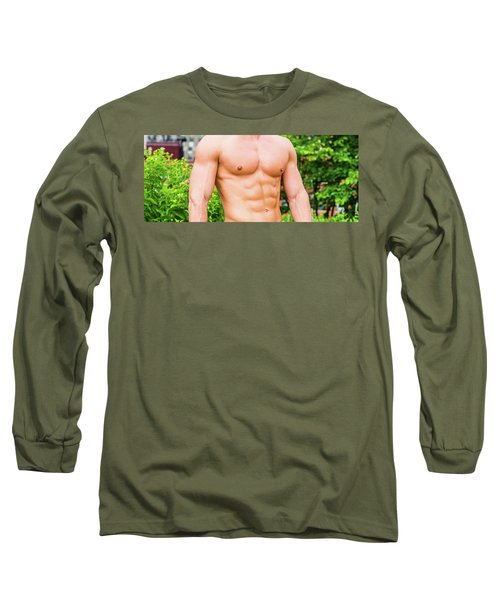 Male Torso 3 Long Sleeve T-Shirt