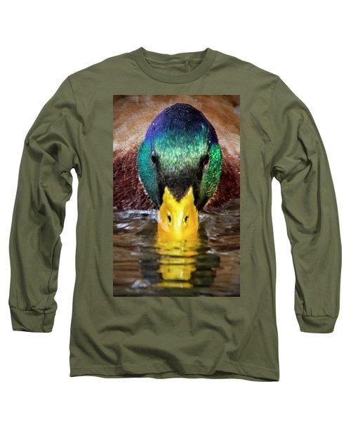 Mallard Duck Long Sleeve T-Shirt