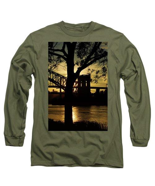Mid Autumn Silhouette Long Sleeve T-Shirt