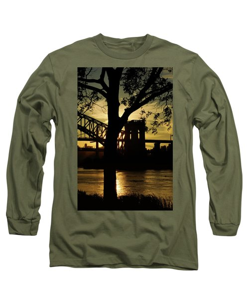 Mid Autumn Silhouette Long Sleeve T-Shirt