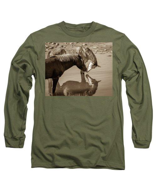 Mirrored Souls Long Sleeve T-Shirt