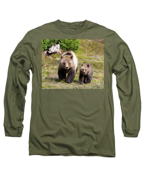 Mom And Cub Long Sleeve T-Shirt