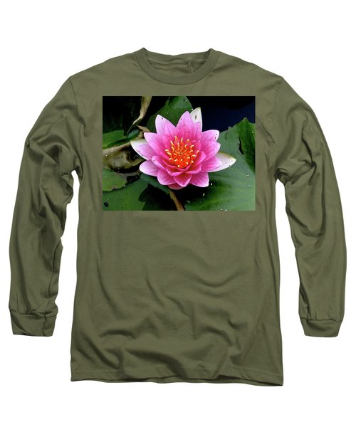 Monet Water Lilly Long Sleeve T-Shirt