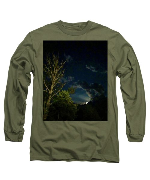 Moonlight In The Trees Long Sleeve T-Shirt