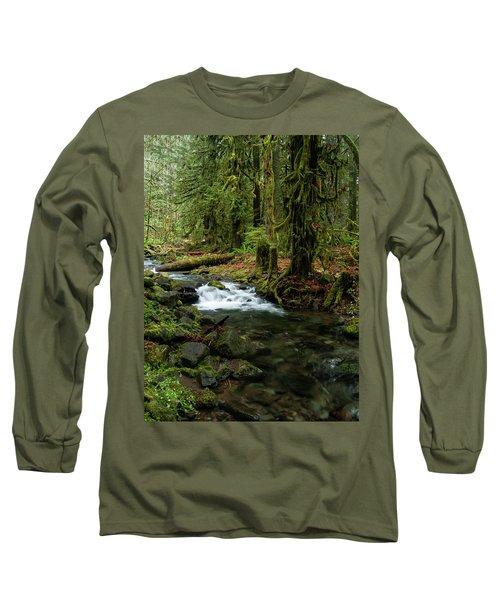 Mossy Cascade Long Sleeve T-Shirt